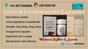 Lenalidomide Capsules Price Online Lenalid Natco Supplier