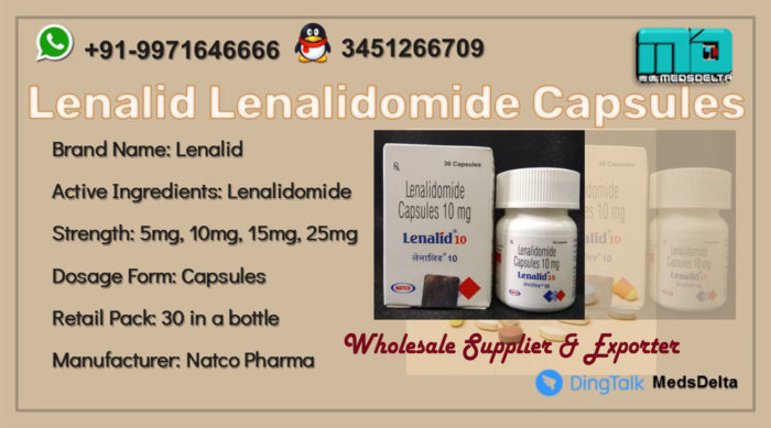 Lenalidomide Capsules Price Online Lenalid Natco Supplier
