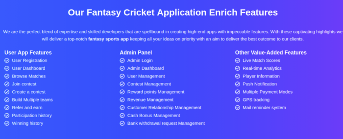 Apps like Dream11 for Cricket   BR Softech