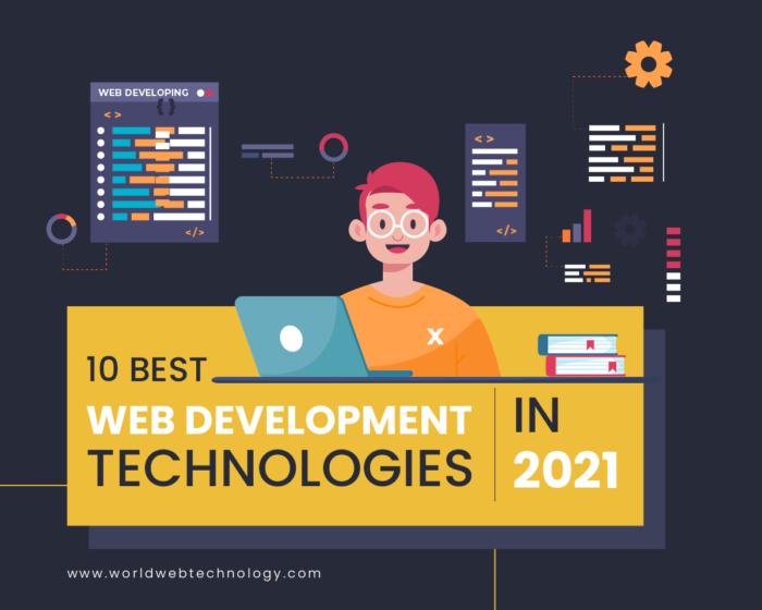 10 Best Web Development Technologies In 2021