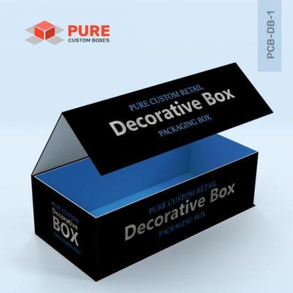 Custom Decorative Boxes Packaging Uk