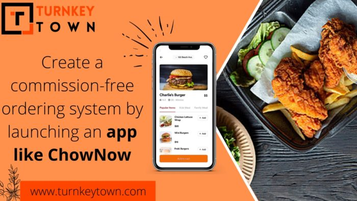Develop an Alternative to ChowNow to attract food buffs easily