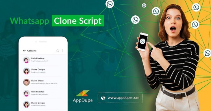 Swerve to the top with our WhatsApp Clone that is devised to make a big splash across the messag ...
