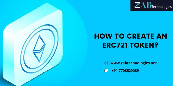 How to Create ERC721 Token – A Lucrative Resource