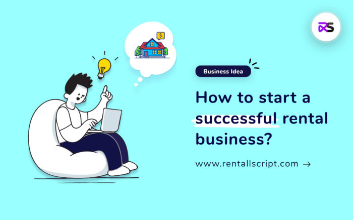 Completed guide for starting an online rental business