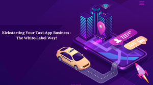 Kickstarting Your Taxi-App Business – The White-Label Way!