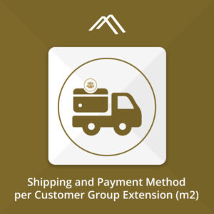 Magento 2 Shipping & Payment Method per Customer Group Extension