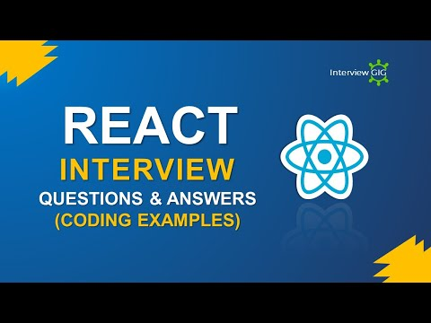 React Interview Questions and Answers   ReactJS Interview Questions   React Coding Examples   – YouTube