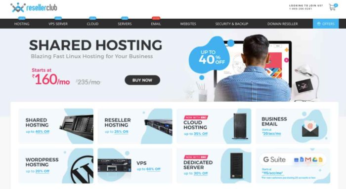 ResellerClub Web Hosting Review India 2021- Get Start Your WordPress Website in Low Budget