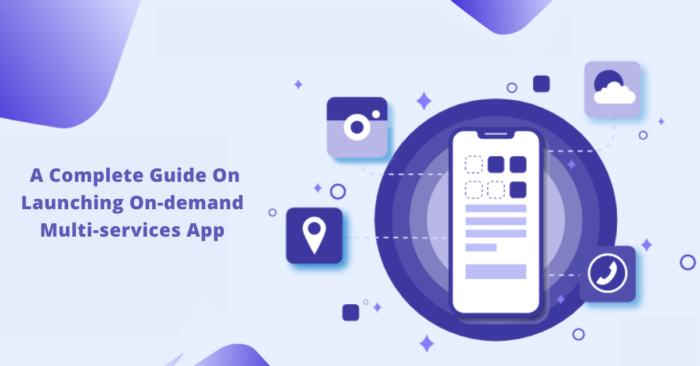 A Complete Guide On Launching On-demand Multi services App