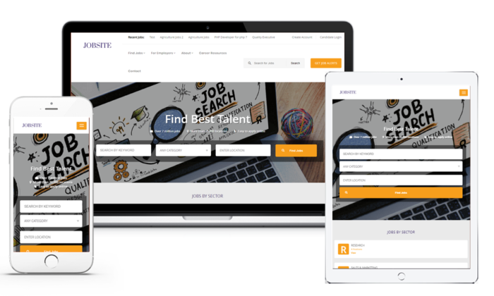 """Powerful job portal software that delivers complete online job portal website solutions.  ..."
