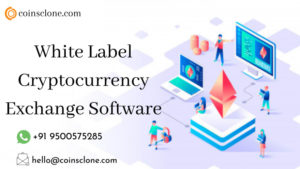 White Label Cryptocurrency Exchange Software @ Coinsclone