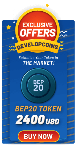 Grab the exclusive offer and create your BEP20 Token on Binance Smart Chain from Developcoins &# ...