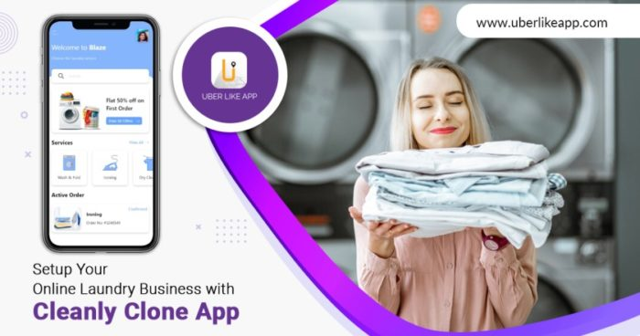 Cleanly App Clone: Setup Your Online Laundry Business with Cleanly Clone