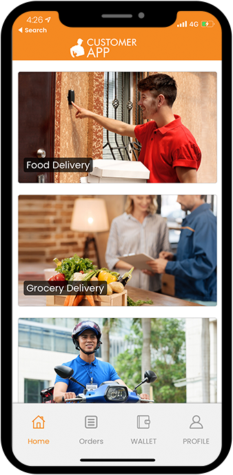 Glovo clone: On Demand Delivery App Solution