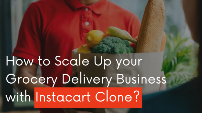 Consider joining the bandwagon of developing an app like Instacart, which will surge your busine ...