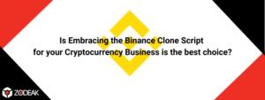 Binance clone script zodeak