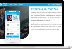 Kick Start Your On Demand Mobile Car Wash App In 7 Days