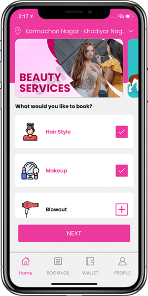 Online Salon Booking App Loaded With Advanced Features That Seamlessly Run Your Salon Business