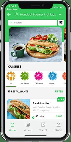 OrderEats Clone: Restaurant Finder & Food Ordering App Solution