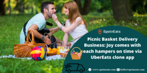 Picnic Basket Delivery Business: Joy Comes with Each Hampers on Time via UberEats Clone App