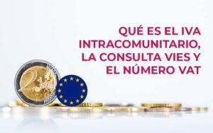 🇪🇺 Qué es el IVA intracomunitario. Consulta VIES y VAT number  Si tu empresa realiza transaccion ...