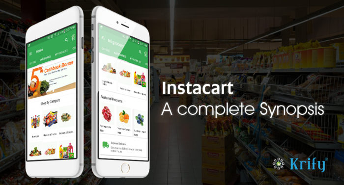 Instacart Clone is an on-demand service that delivers groceries from the local stores to the doo ...