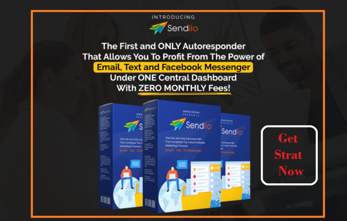 🚀  Get #Sendiio autoresponder  to create unlimited #email, text and facebook campaigns under one ...
