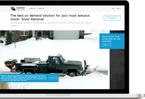 Set up your business with the Best On Demand Snow Removal App
