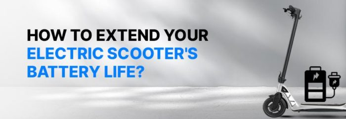 Tips on How to Take Care of Your Electric Scooter Battery  – Eveons Mobility Systems