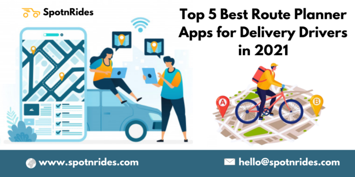 Top 5 Best Route Planner Apps for Delivery Drivers in 2021