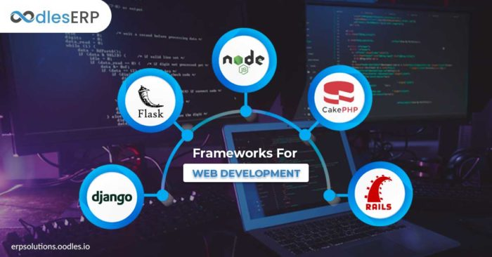 Top Frameworks For Custom Web Application Development