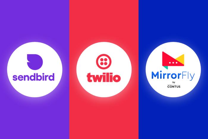 Twilio vs Sendbird vs CONTUS MirrorFly Feature Comparison | Twilio vs Competitors