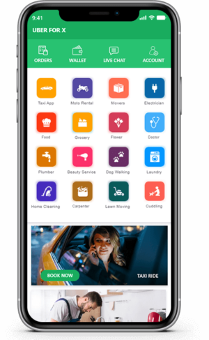 Uber for X   Uber for X Script   On-demand Uber for X clone App  Uber x app is very helpful in b ...