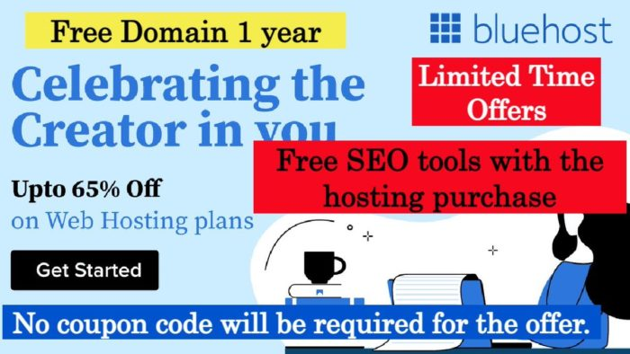 Last Day of Up to 65% Off #BluehostWebHosting: https://t.co/rpIywm23Si Get #Bluehost #SEO Tools  ...
