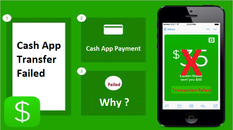 Why does cash app say Transfer failed & Fix Payment Failed Issue