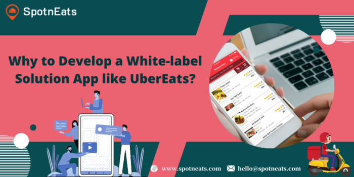 Why to Develop a White-label Solution App like UberEats?