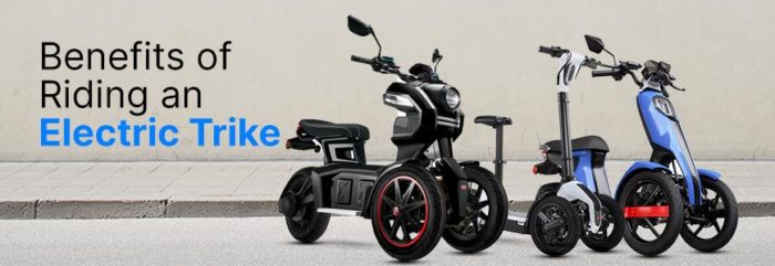 Why You Should Go for an Electric Trike? Know the Benefits  – Eveons Mobility Systems