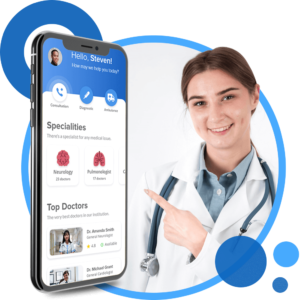 The ZocDoc clone offers access to the best medical experts