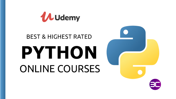 25+ Best & Highest Rated Python Courses on Udemy for 2021 | 3C