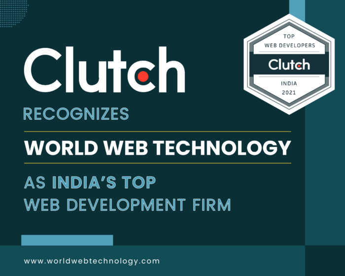 Clutch Recognizes World Web Technology as India's Top Web Development Firm
