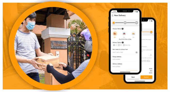 Courier Delivery App Development: Key Benefits, Features and Cost