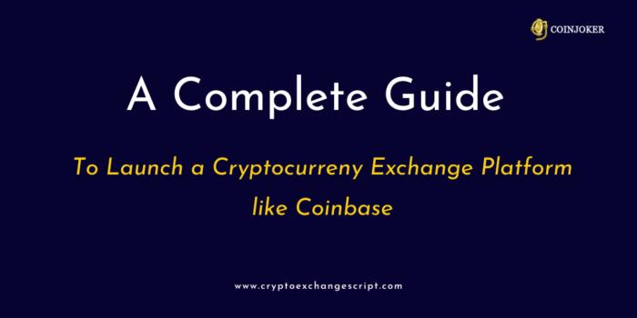 Cryptocurrency Exchange Platform Like Coinbase Clone Development | Coinjoker