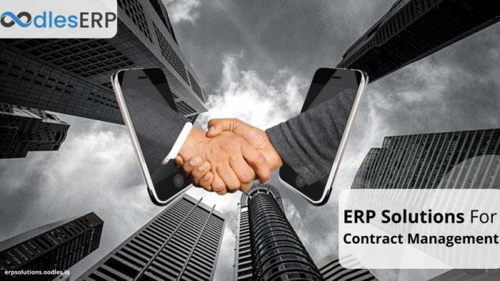Custom ERP Application Development For Contract Management