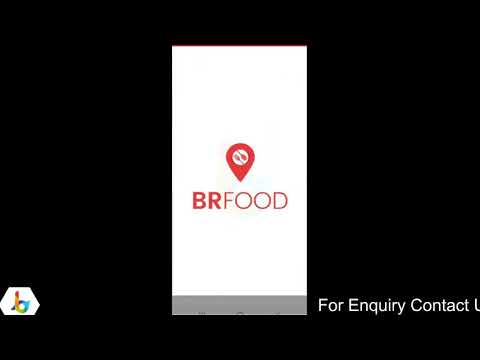 #Demo: Build a BR Food & Grocery Delivery App with BR Softech: Quick Tour (Hindi) – YouTube