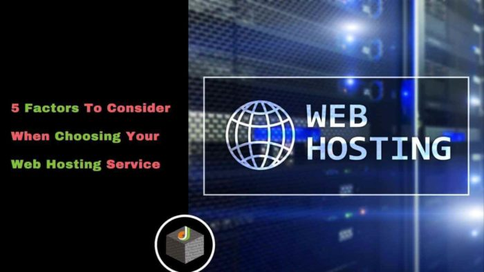 🖐 Important Factors That You Should Consider When Choosing Your #WebHostingService 🔥  💁♂️ Here  ...