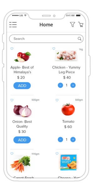 Grocery Ordering and Delivery App Like Instacart.  Want grocery delivery app solution? Get our I ...