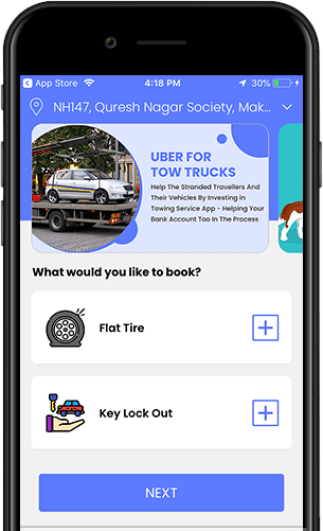 Grow Your Towing Business With Roadside Assistance 24 Clone App