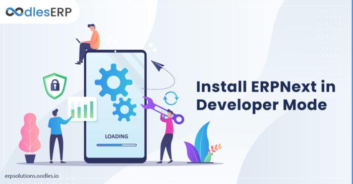 Install ERPNext in Developer Mode