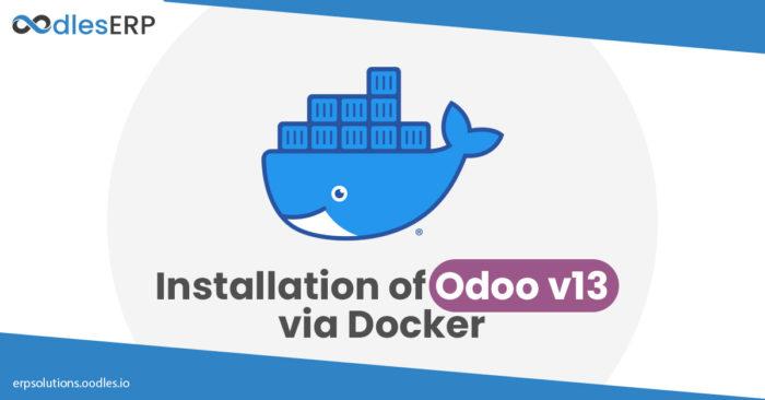 Installation of Odoo v13 via Docker